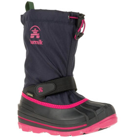 Kamik Waterbug8G Shoes Kids navy/rose-marine/rose